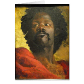 Head of a Moor by Henri Regnault Card