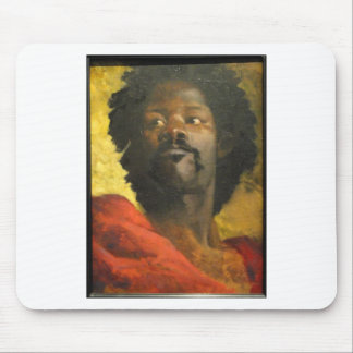 Head of a Moor by Henri Regnault Mouse Pad