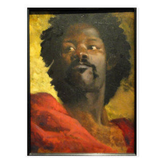 Head of a Moor by Henri Regnault Postcard