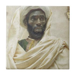 Head of a Moor Tile