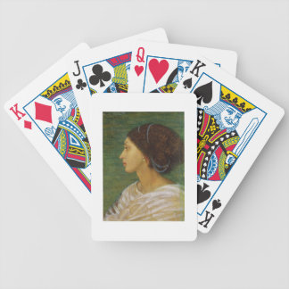 Head of a Mulatto Woman, 1861 (oil on paper laid o Bicycle Playing Cards