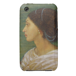 Head of a Mulatto Woman, 1861 (oil on paper laid o iPhone 3 Covers