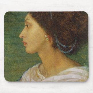 Head of a Mulatto Woman, 1861 (oil on paper laid o Mouse Pad