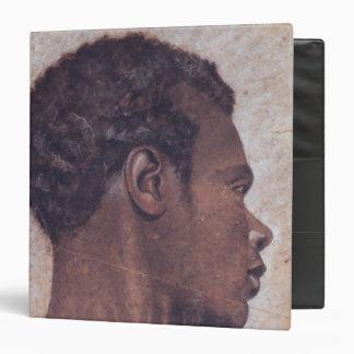 Head of a Negro Vinyl Binder
