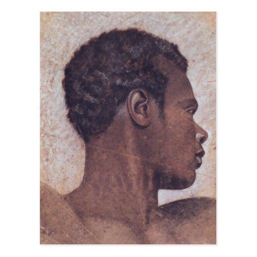 Head of a Negro Postcard