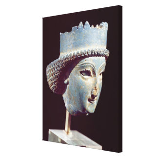 Head of a prince, from Persepolis Canvas Print