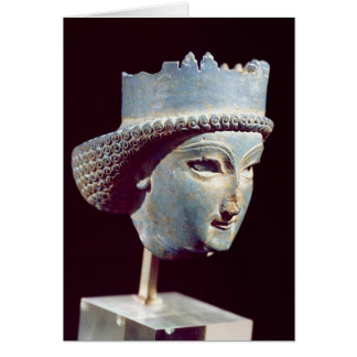 Head of a prince, from Persepolis Card
