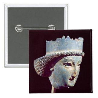 Head of a prince, from Persepolis Pinback Button