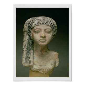 Head of a Princess from the family of Akhenaten, N Poster