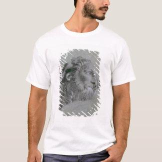 Head of a River-God, c.1751 (black chalk heightene T-Shirt