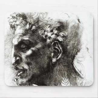 Head of a Satyr Mouse Pad