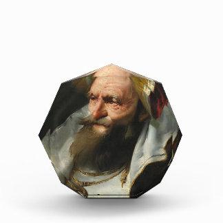 Head of a Scholar by Giovanni Domenico Tiepolo Acrylic Award