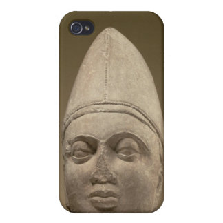Head of a Scythian, red sandstone, 3rd century AD iPhone 4/4S Cases