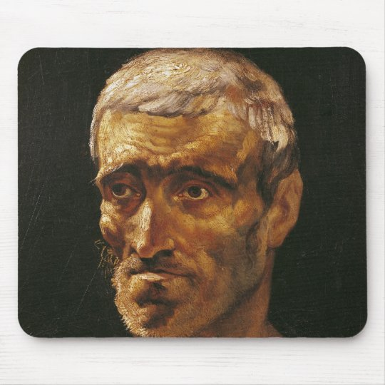 Head of a Shipwrecked Man Mouse Pad