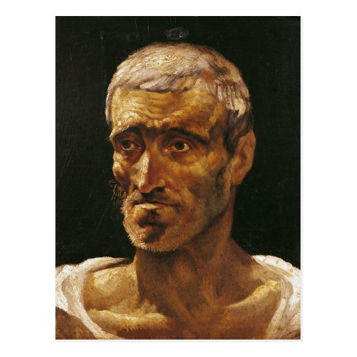 Head of a Shipwrecked Man Postcard