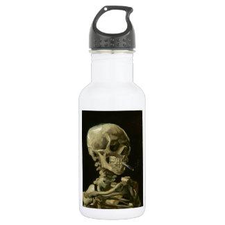 Head of a skeleton 18oz water bottle