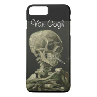 """""""Head of a Skeleton with Burning Cigarette"""" iPhone 7 Plus Case"""