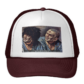 Head Of A Slave In Two Variants Hat