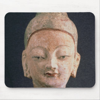 Head of a statue of Buddha, from Bezeklik Mouse Pad