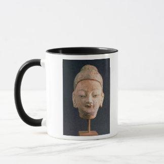 Head of a statue of Buddha, from Bezeklik Mug