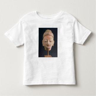 Head of a statue of Buddha, from Bezeklik Shirt