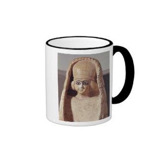 Head of a statue of Ishtar, wearing a Mug