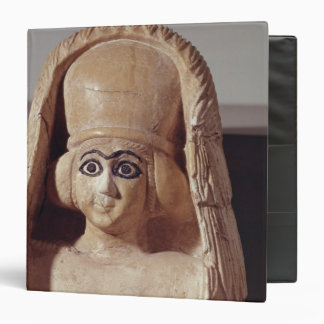 Head of a statue of Ishtar, wearing a Vinyl Binder