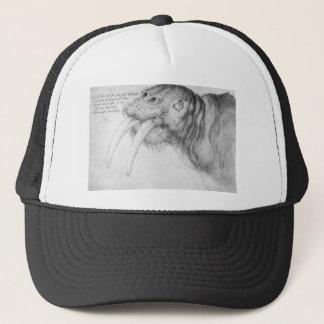 Head of a walrus by Albrecht Durer Trucker Hat