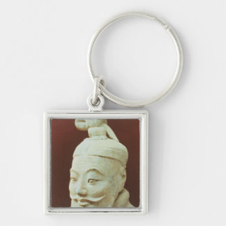 Head of a warrior, Terracotta Army Keychain