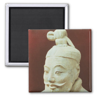 Head of a warrior, Terracotta Army Magnet