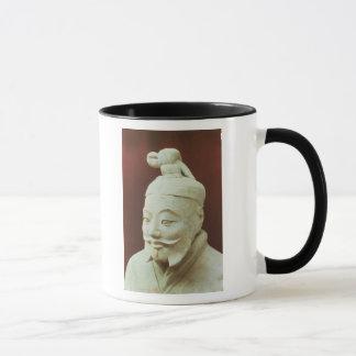 Head of a warrior, Terracotta Army Mug