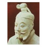 Head of a warrior, Terracotta Army Postcard