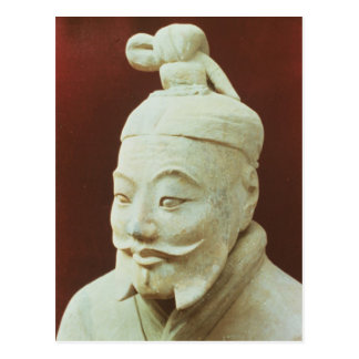 Head of a warrior, Terracotta Army Post Cards