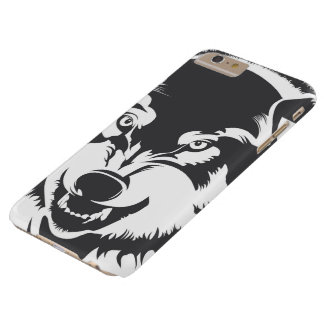 Head of a Wolf Barely There iPhone 6 Plus Case