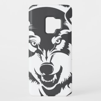 Head OF A wolf Case-Mate Samsung Galaxy S9 Case