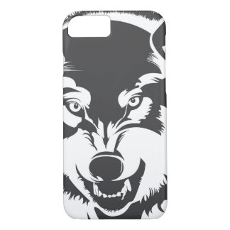 Head of a Wolf iPhone 7 Case