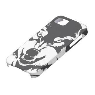Head of a Wolf iPhone SE/5/5s Case