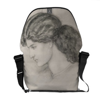 Head of a Woman, 1861 (pencil on paper) Courier Bags