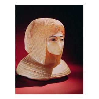 Head of a woman, believed to be Princess Kiya Postcard