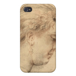 Head of a woman by Paul Rubens Cases For iPhone 4