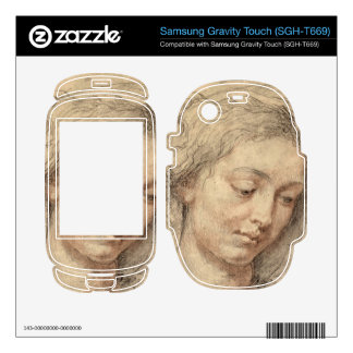 Head of a woman by Paul Rubens Samsung Gravity Touch Skins