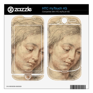 Head of a woman by Paul Rubens HTC myTouch 4G Skins