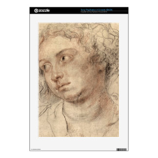 Head of a woman by Paul Rubens Decal For PS3
