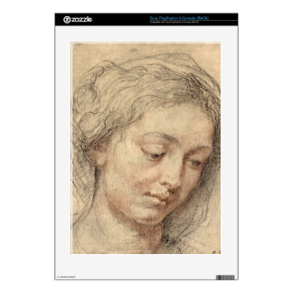 Head of a woman by Paul Rubens Skin For The PS3
