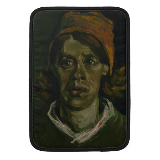 Head of a Woman by Vincent Van Gogh Sleeve For MacBook Air