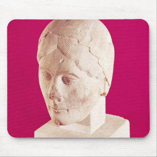 Head of a woman, from Cambrai Cathedral Mouse Pad