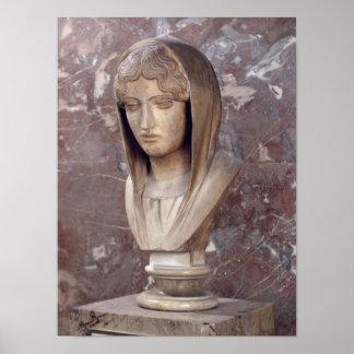 Head of a woman known as Aspasia of Miletos Print