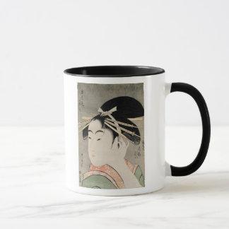 Head of a Woman Mug