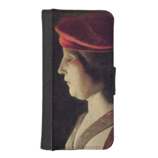 Head of a Woman Phone Wallet