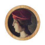 Head of a Woman Round Cheese Board